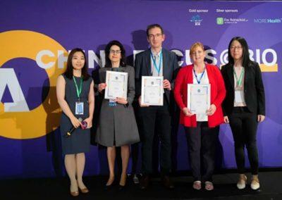 Group photo of wining groups