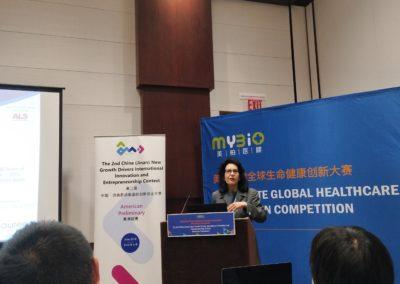 Susan Rosenbaum, founder of the first place winner Lauren Sciences LLC
